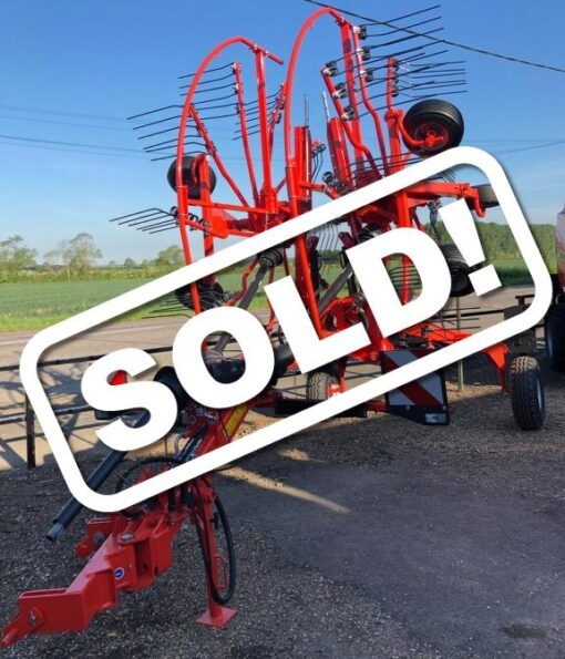 Kuhn GA6501 Twin Rotor Rake for Sale