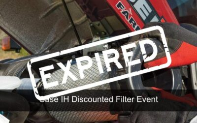 Case IH Filters Discounted Event